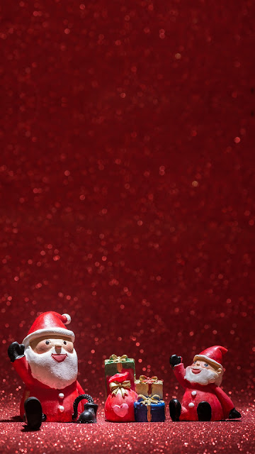 Wallpaper Cute Santa Claus