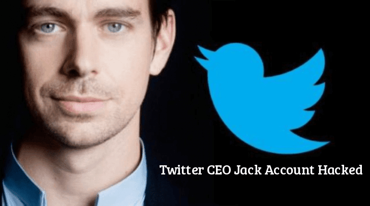 Twitter CEO Jack Dorsey Account Hacked using Sim Swapping Attack  - Twitter 2BCEO - Twitter CEO Jack Dorsey Account Hacked using Sim Swapping Attack