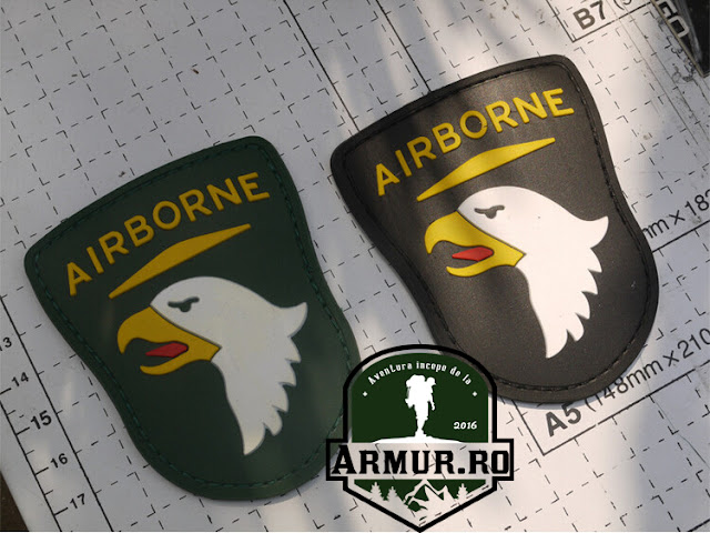 ecuson aviatie Patch Airborne airsoft