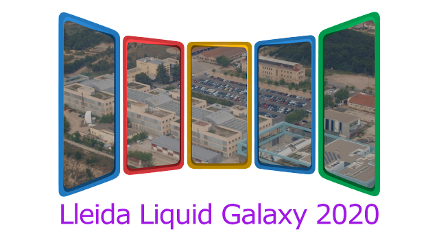 Preparing our 10th anniversary working on the Liquid Galaxy project