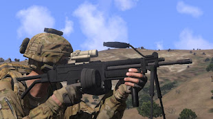 arma3 Ultimax 100アドオン