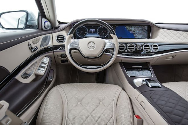 siêu xe mercedes s550 nội thất