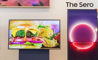 Samsung launched stunning Sero TV
