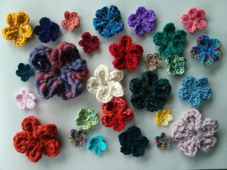 Mrsdaftspaniel  Easy Crochet Flower Photo Tutorial