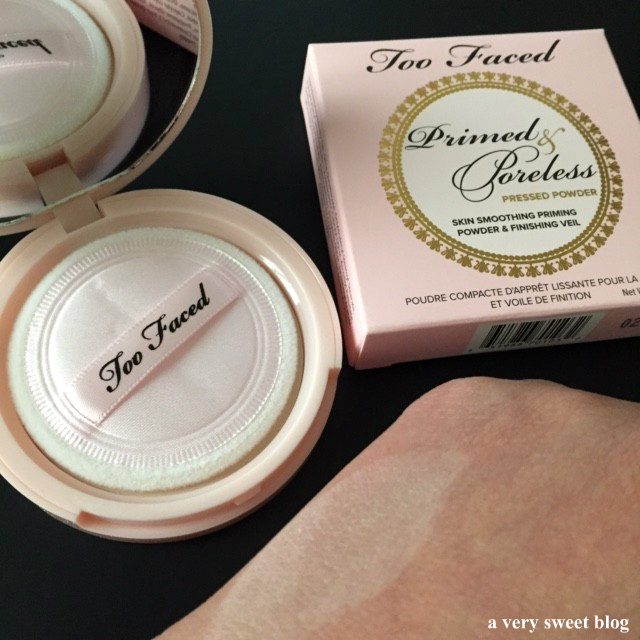 Primed & Poreless Pressed Powder by Too Faced #4