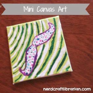 Mini Canvas Craft Ideas