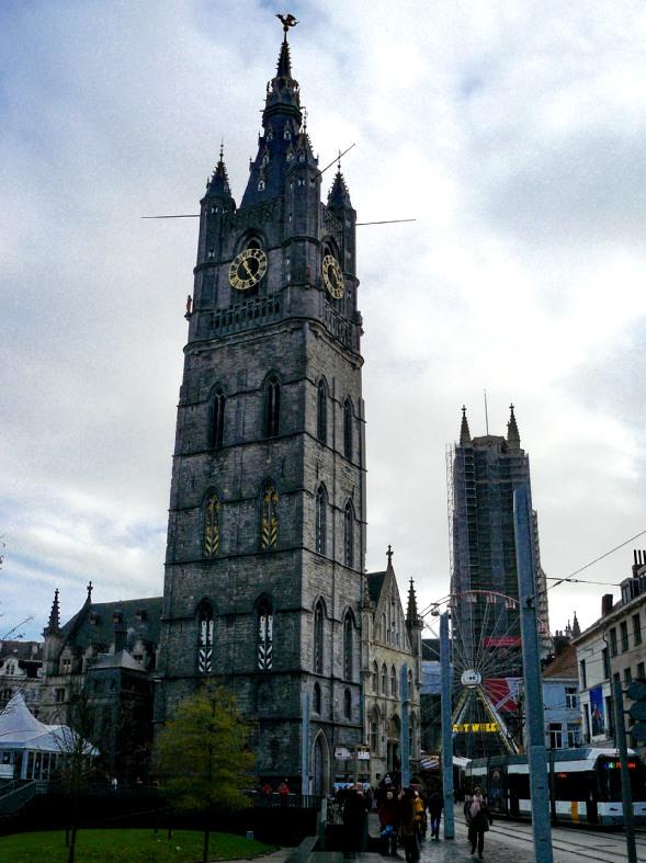 Campanario de Belfort - visita de un día a Gante