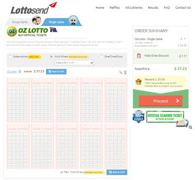Play Oz Lotto Online - Lottosend.com