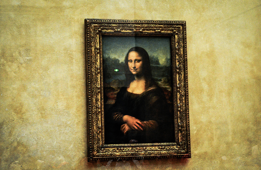 The Louvre, museum,  Mona Lisa