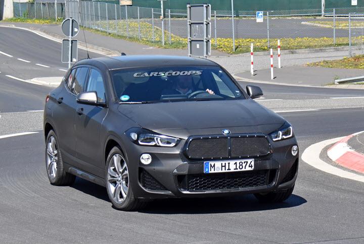 Lộ diện BMW X2 facelift sẽ chào bán vào cuối năm nay