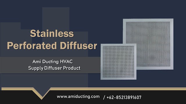 Stainless Perforated Diffuser