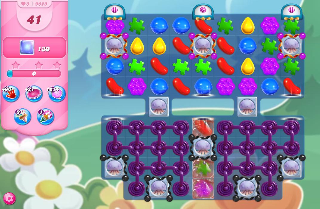 Candy Crush Saga level 9623