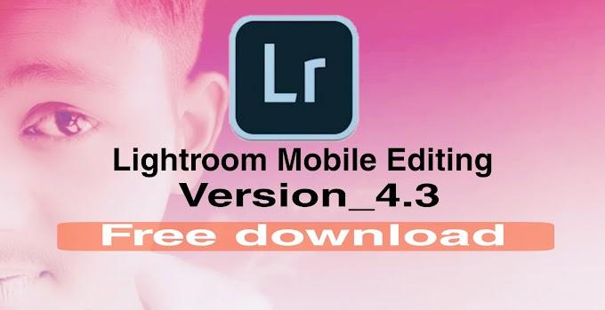 Adobe Photoshop Lightroom cc 4.3 full unlocled apk