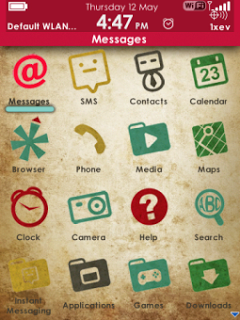 Vintage Theme for Blackberry v.1.2