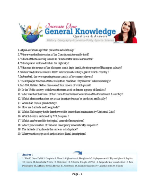 5000-General-Knowledge-Questions-and-Answers-For-All-Competitive-Exam-PDF-Book