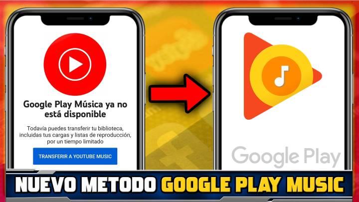 Cómo recuperar el reproductor de Google Play Music nuevamente en Android