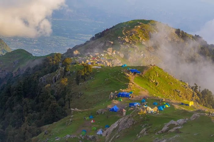 triund hill, Dharmshala, Best Places for Honeymoon in India