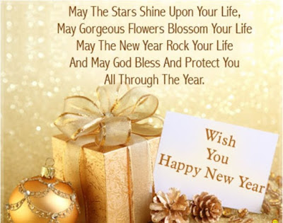 New year messages for cards download
