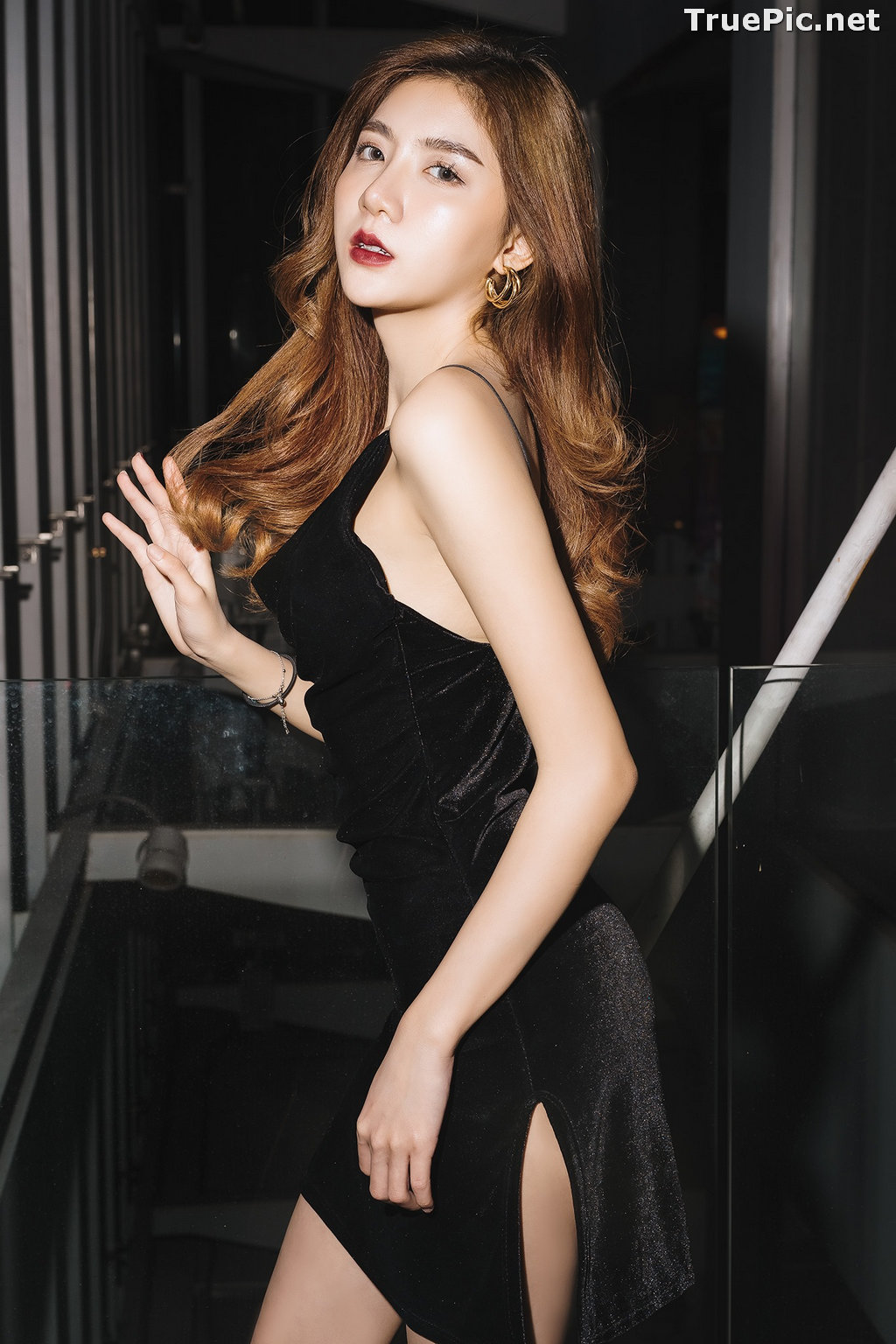Image Thailand Model - Sasi Ngiunwan - Black For SiamNight - TruePic.net - Picture-35