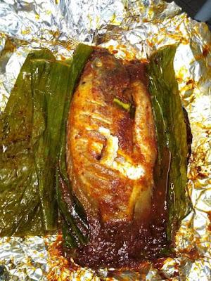 Ikan Talapia Bakar Bersambal