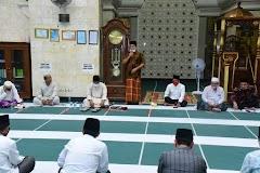 Pemkab Banyuasin Mulai Memperbolehkan Untuk Sholat Berjama'ah di Masjid