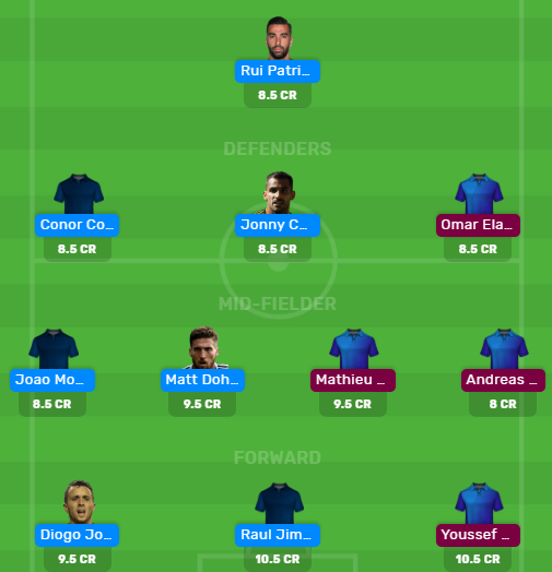 WOL vs OLY Dream11 Team for Today's Match