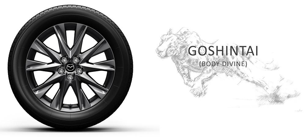 Bộ mâm xe Goshintai 19-inch