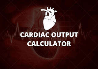 cardiac-output-calculator