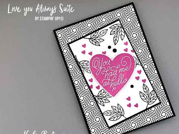 Kylie's Demonstrator Training Program Blog Hop January 2021 | Love You Always Suite