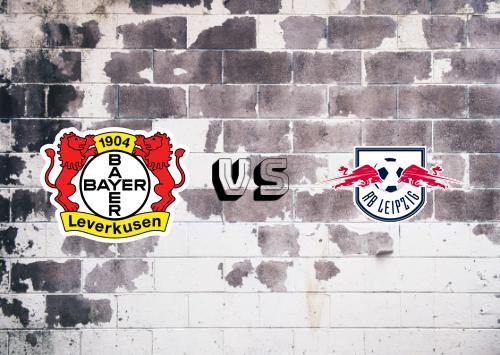Bayer Leverkusen vs RB Leipzig  Resumen