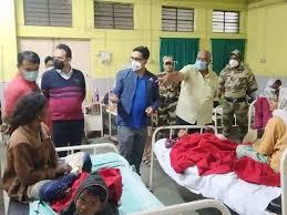 badee laaparavaahee: poliyo drop kee jagah sainitaijar pilaaya, 12 bachche aspataal mein bhartee 3 nars saspend