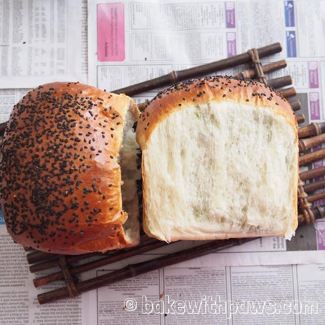 Matcha Swirl Bread