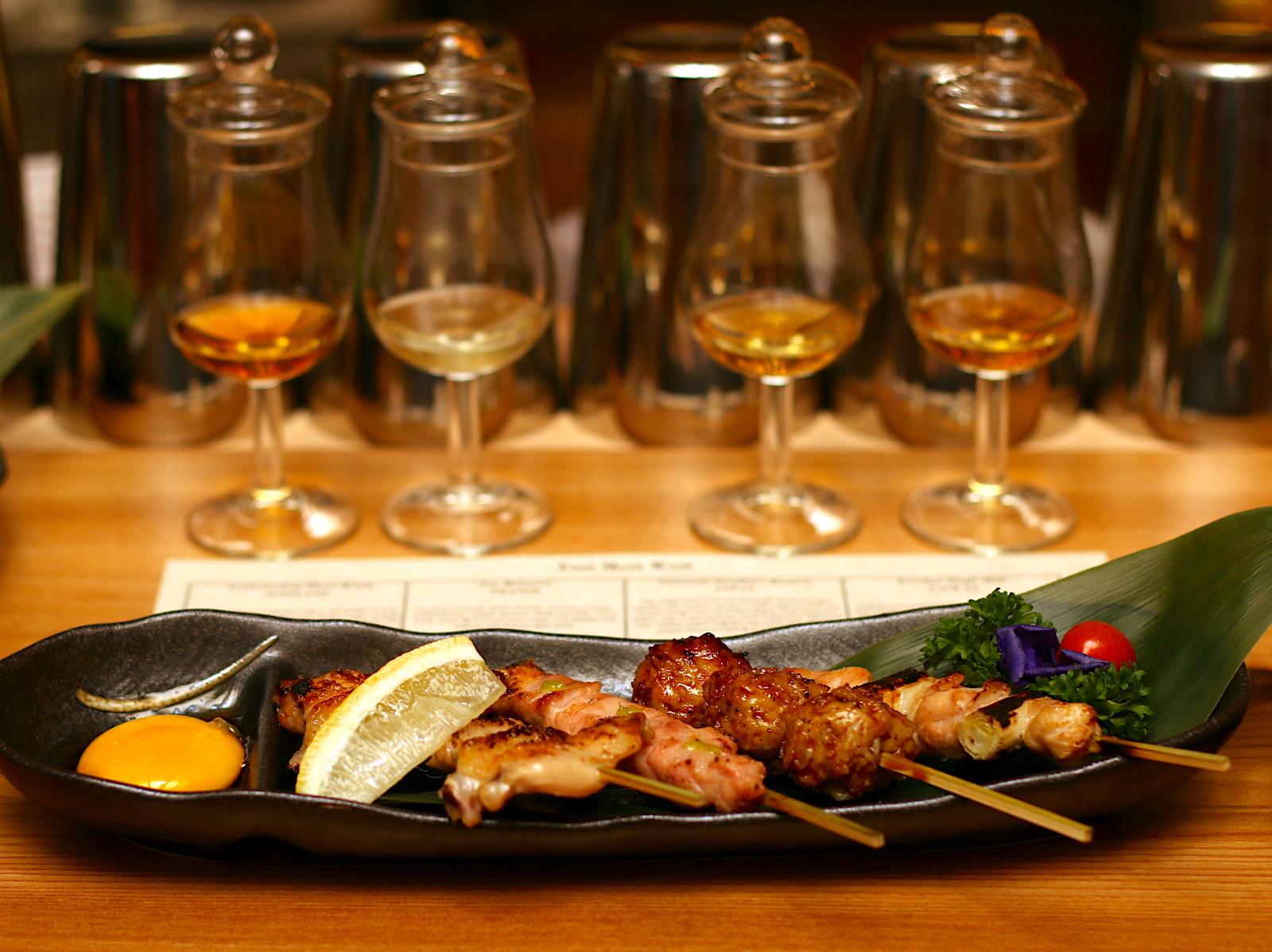The Wall at Tanjong Pagar: Whisky and Sumiyaki | CAMEMBERU