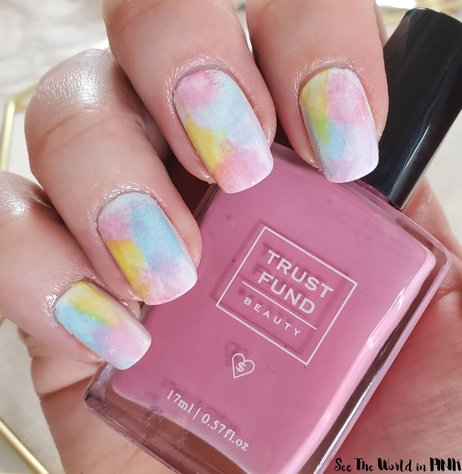 Manicure Monday - Tie Dye Nails