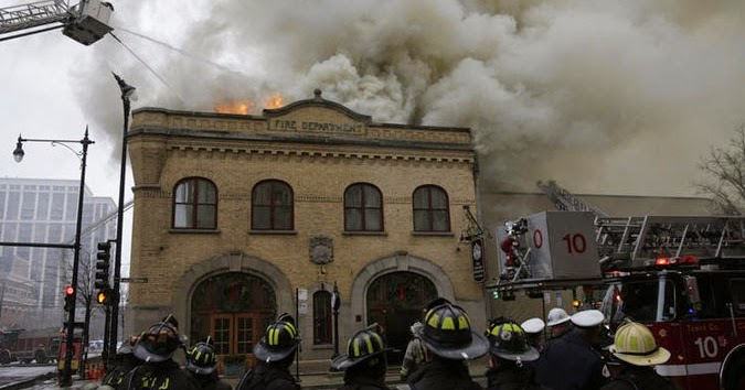 The Story Of A House Fire Damages Chicago Firehouse