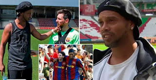 I would've loved to have played more with Messi: Ronaldinho