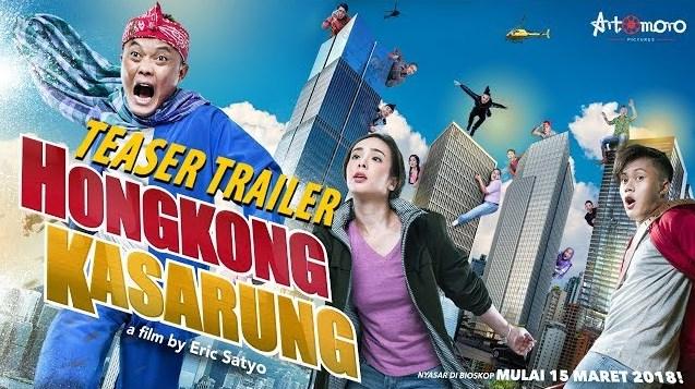Film Hongkong Kasarung Akan Tayang 15 Maret 2018, Ini Teaser Trailer-nya