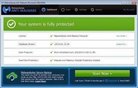 Malwarebytes 2.0