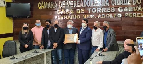 Yves Ribeiro prestigia entrega de Título de Cidadão Paulistense ao Juiz Ricardo de Sá Leitão