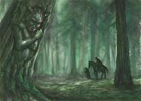 latvian folklore, latvian mythology, latviešu folklora, latviešu mitoloģija, capital r, 2018, drawing, vadātājs, evil driver