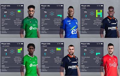 PES 2021 Facepack Ligue 1 Vol 6
