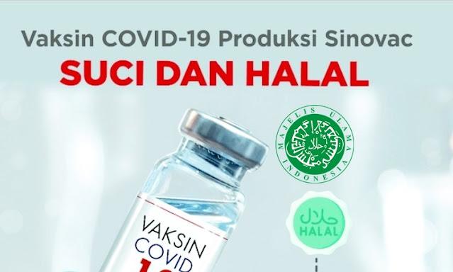 China Manfaatkan Sertifikat Halal MUI untuk Memasarkan Vaksin Sinovac ke Negara-Negara Islam