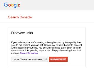Google Disavow Link