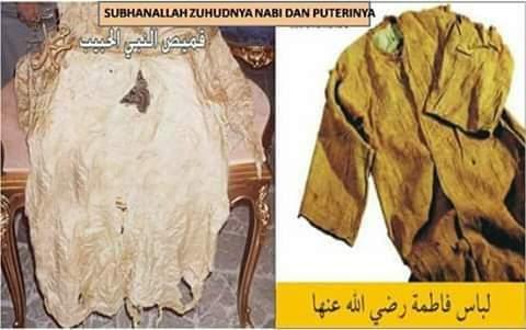 Kisah Sedekah Baju Rasulullah Yang Membawa Berkah