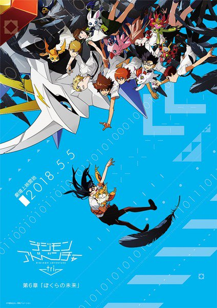 Digimon Adventure tri. Bokura no Mirai Poster