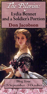 Blog Tour: The Pilgrim: Lydia Bennet and a Soldier's Portion by Don Jacobson