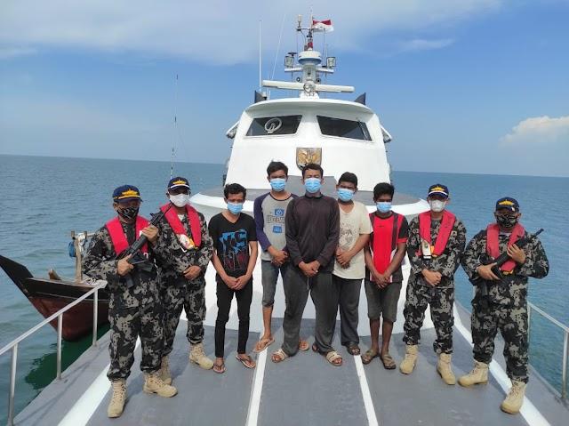 KKP Bebaskan Lima Nelayan asal Sumut yang Ditangkap Aparat Malaysia