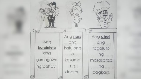 Nurses criticize DepEd's material over alleged discrimination