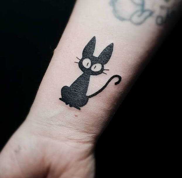 Cat silhouette Tattoos