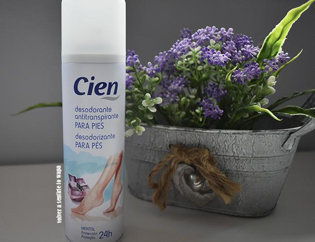 Desodorante antitranspirante para pies de Lidl